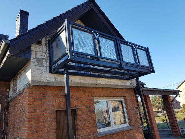 Balkony metalowe