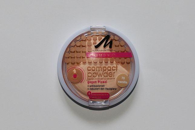 Antybakteryjny puder Manhattan clearface compact powder 70 vanilla