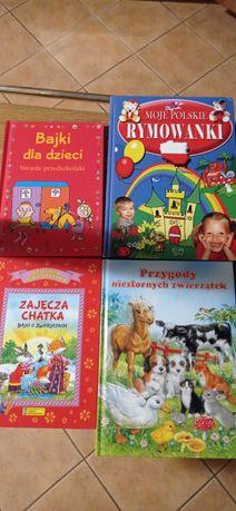 Książki książeczki bajki dla dzieci