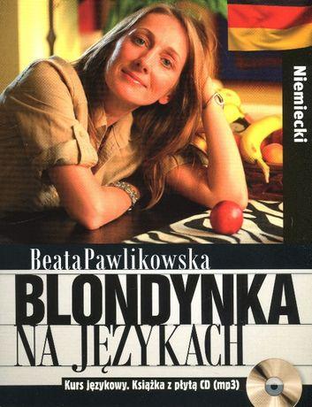 Blondynka na językach. Niemiecki + CD UNIKAT! NOWY!
