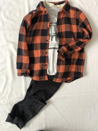 Koszula flanelowa ZARA 128