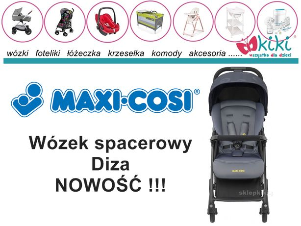 Wózek spacerowy Maxi-cosi Diza Graphite