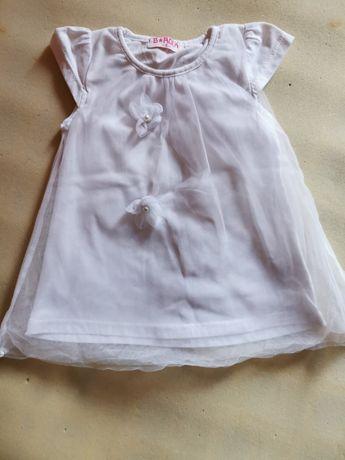 Śliczna sukienka rozmiar 1-2 lata