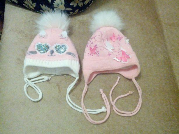 Продам зимнюю шапку для самых маленьких