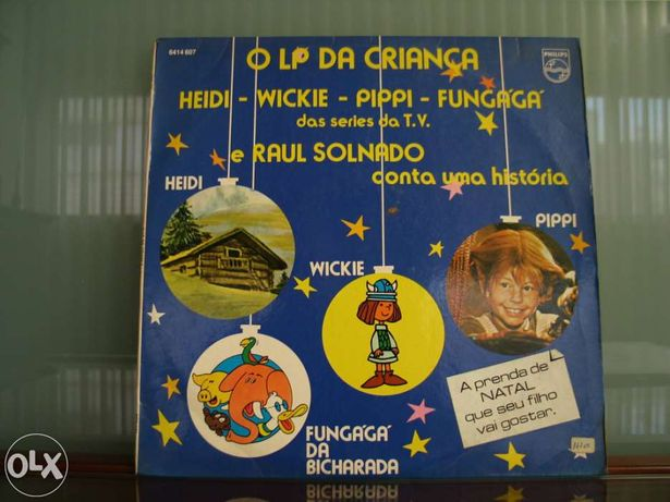 Vinil - Disco infantil