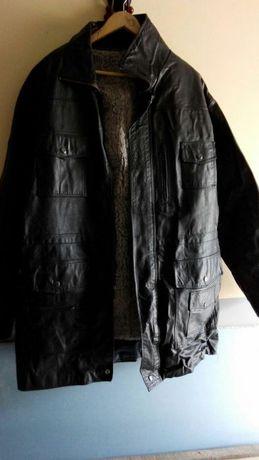Куртка кожаная с подстежкой