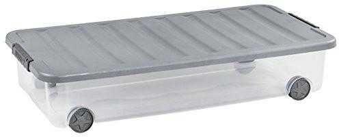 Pojemnik pod łóżko curver scotti 35 l z kółkami