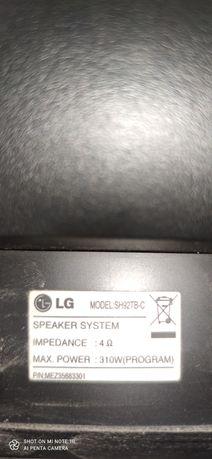 Kino domowe LG model. SH 92TB