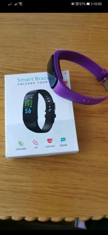 Opaska zegarek Smart fioletowa