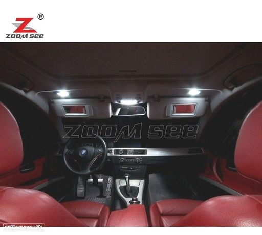 KIT COMPLETO DE 20 LÂMPADAS LED INTERIOR PARA BMW SERIE 3 E93 LLOGUER DE 320I 325I 330D 330I 335I M