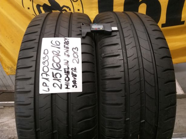 LP170330 para 215/60R16 Michelin Energy Server 2013r.