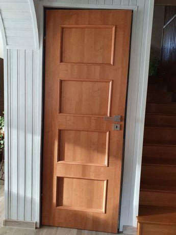 Drzwi wewnętrzne pokojowe lewe 2 szt.