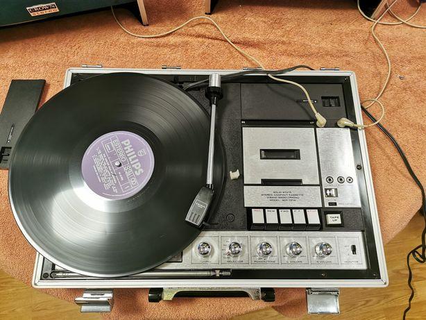 Rádio mala Crown SCP 71FW Vintage