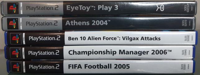 Jogos para PS2 desde 2 euros