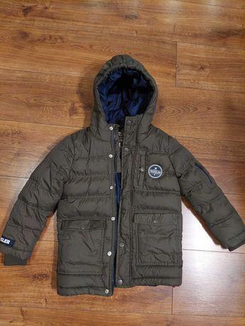 Zimowa kurtka chłopięca Carry Junior rozmiar 116 cm, 5-6 lat