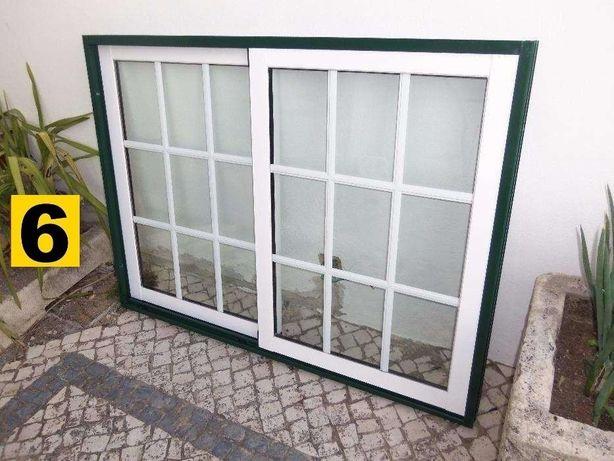 Portas Alumínio - Janela Aluminio - Portas sacada Vidro Duplo