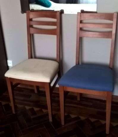 Madeira de Cerejeira: Mesa + 4 Cadeiras