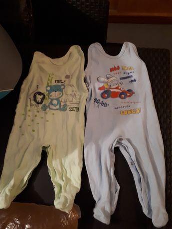 SPRZEDAM Zestaw ubrań ubranek dla chłopca rozmiary od 68-86.