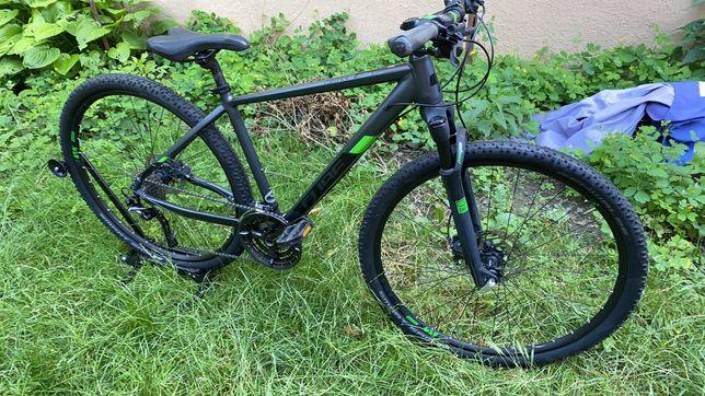 Велосипед Cube 2019 Cross Pro, размер 46 см, цвет: серый/зелёный