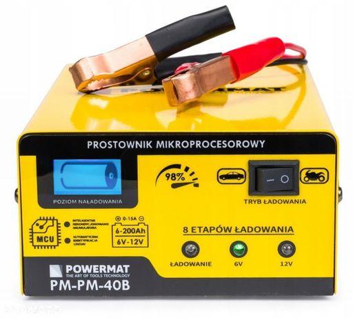 Prostownik mikroprocesorowy 6/12V PM-PM-40B