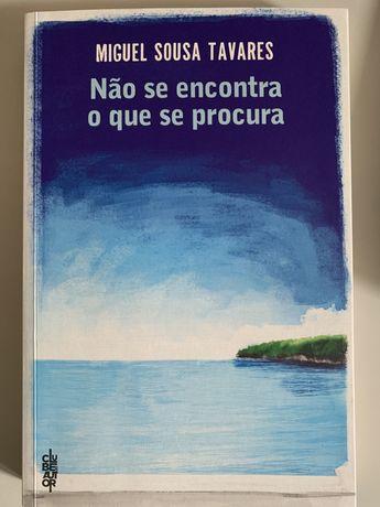 """""""Nao se Encontra o que se Procura"""", Miguel Sousa Tavares"""