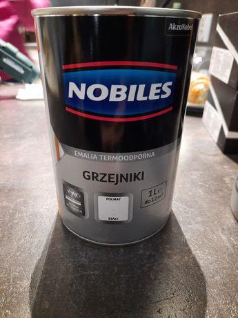 Farba do grzejników Nobiles półmat 2l (2x 1l)