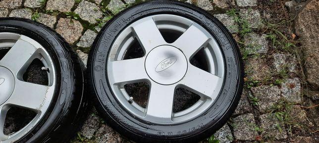 Koła Alu Ford Fiesta/Focus opony letnie 195/50/15 komplet