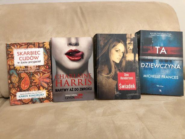 Cztery książki różnych autorów
