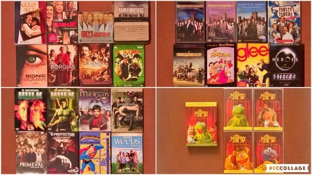 FILME SÉRIE DVD Diversas Séries Novas Seladas Glee Heroes Hulk Merlin