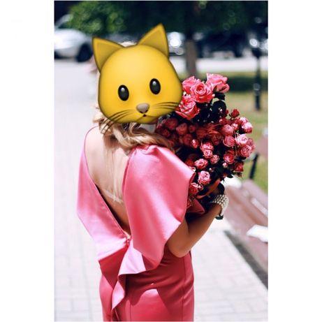 платье розовое нарядное\ сукня рожева