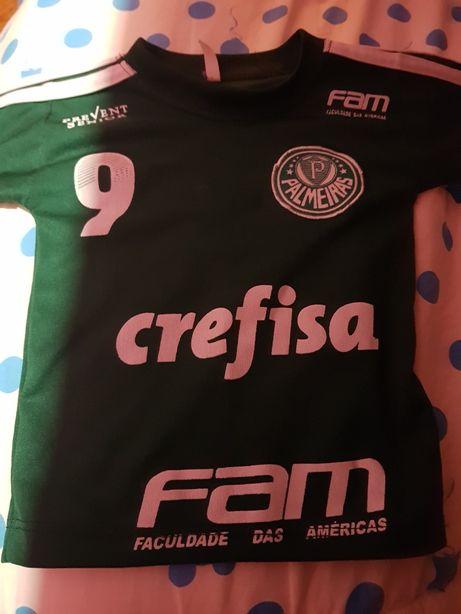 Tshirt Palmeiras criança
