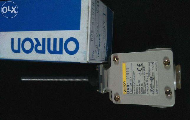 Interruptor limite fim de curso Omron D4B-5181N