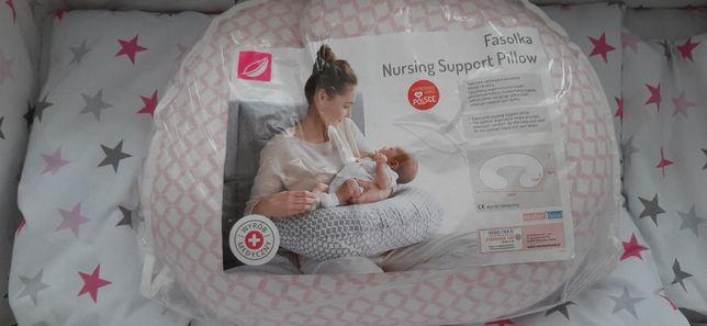 Jak nowa Poduszka Fasolka do karmienia Motherhood