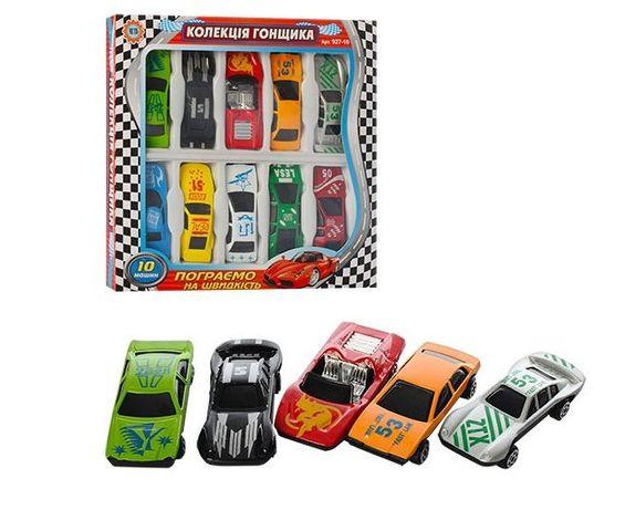 Набор машинок 10 шт,колекция гонщика,гоночные машинки,гоночная машинка