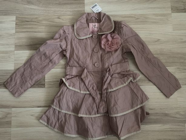 Płaszcz płaszczyk Next 116 cm