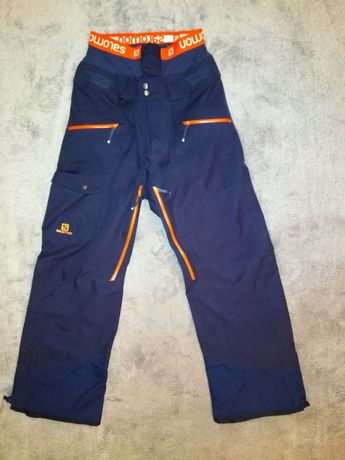 Idealne Salomon S narciarskie snowboardowe spodnie męskie