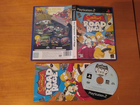 Jogo Simpsons Road Rage PlayStation 2