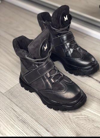 Ботинки зимние сапоги зима черевики чоботи зимові зима