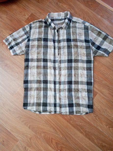 Легкая летняя рубашка Турция 52-54р