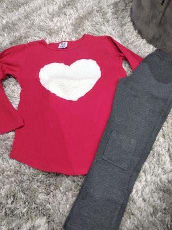 Conjunto camisola + leggings 8A