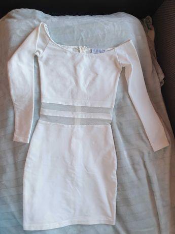 Sukienka biała ..