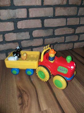 Traktor z dźwiękiem