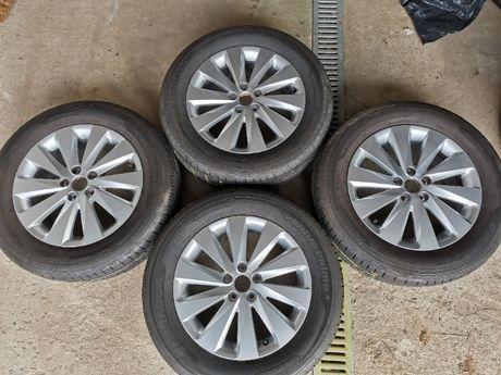 Felgi SEAT Arona VW Polo SKODA Fabia Rapid 6Jx16H2 5x100 ET45