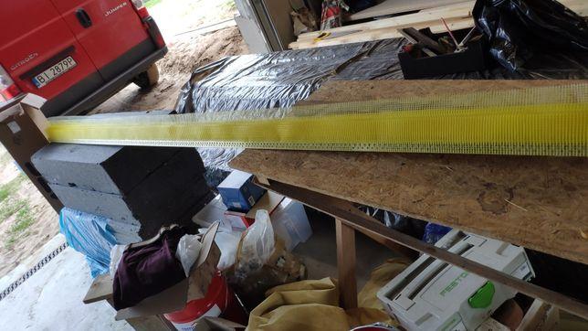 Narożnik elewacyjny żółty wzmacniany 13szt