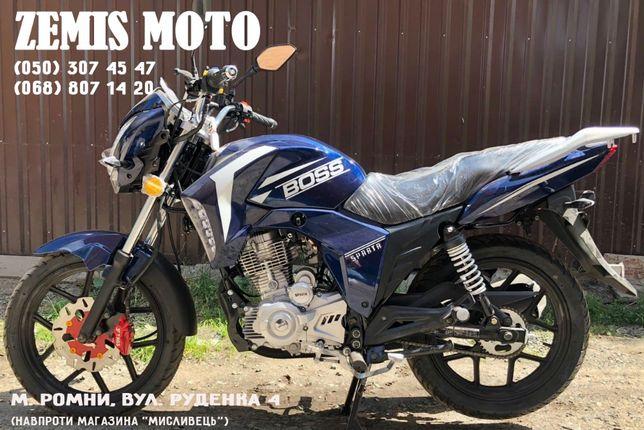 Новый Мотоцикл SPARTA BOSS 200 Бесплатная доставка!!!