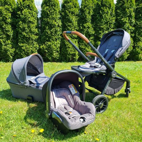 Wózek Muuvo Quick 3w1 z fotelikiem Maxi Cosi