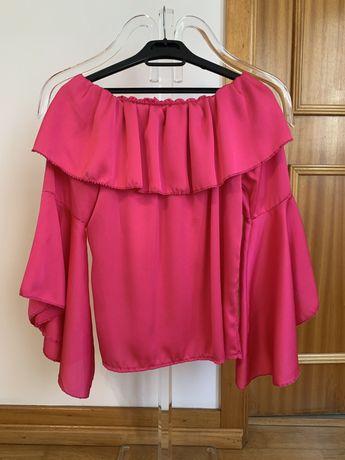 Blusa rosa de mulher