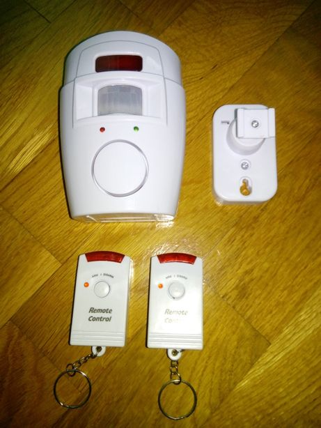 "Сенсорна сигналізація ""Remote Controlled Mini Alarm"" + 2 брелка."
