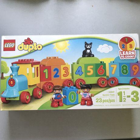 Лего DUPLO поезд (оригинал)
