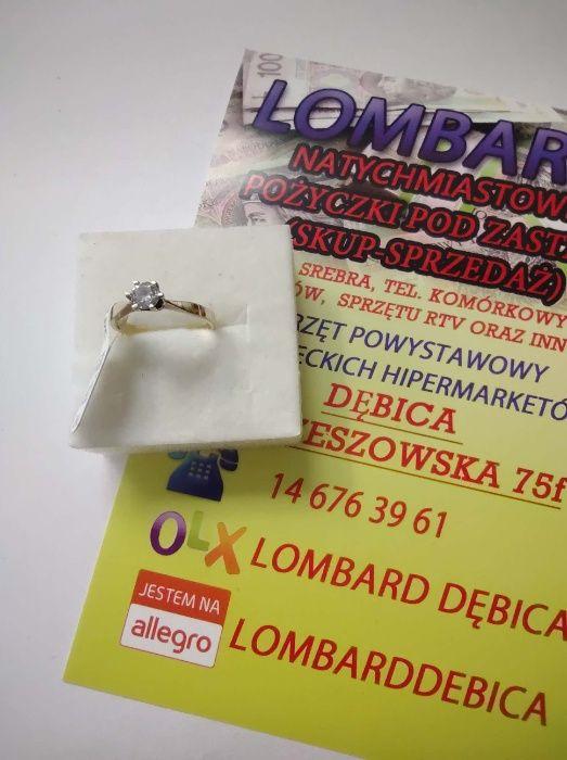Złoty pierścionek PR.333 Waga 1,58g r.12 ! Lombard Dębica